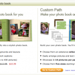 Shutterfly Simple Path vs Custom Path