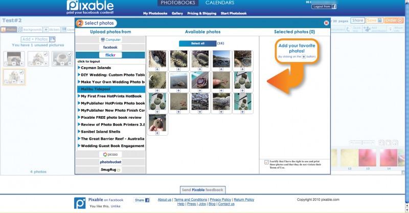 Pixable photo upload
