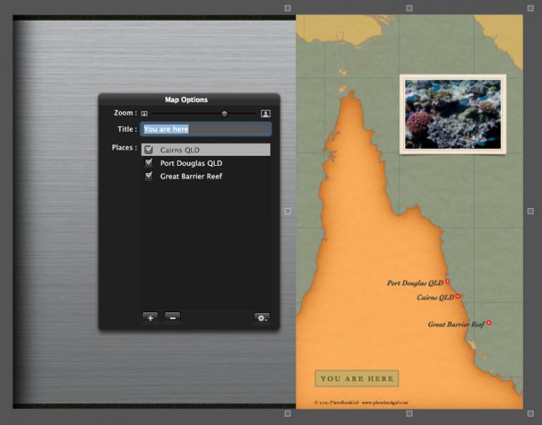 Aperture Map tool