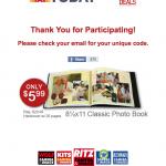 RitzPix photo book deal