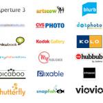 Photo book company logos