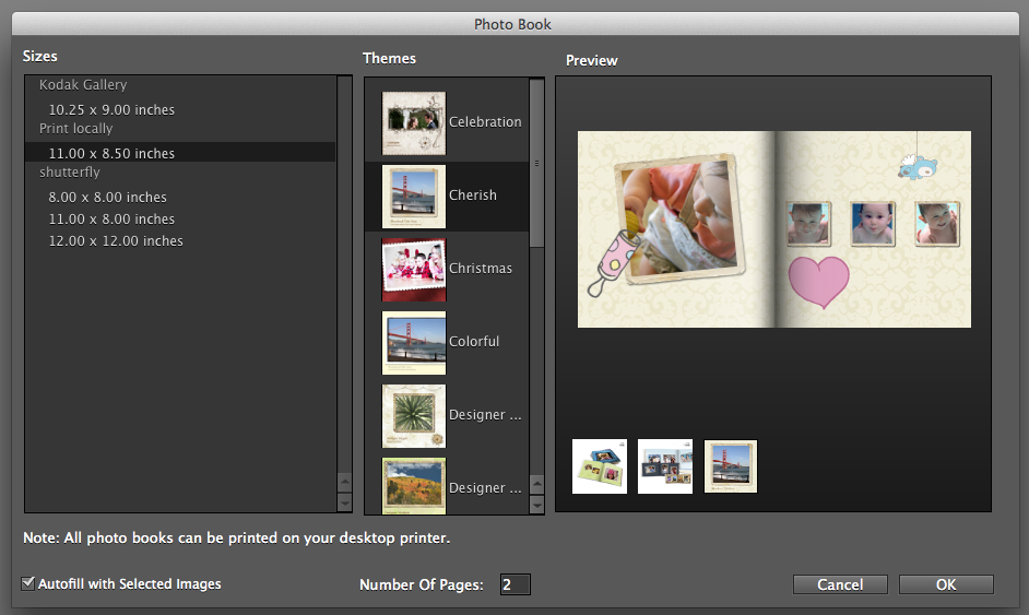 photo book software