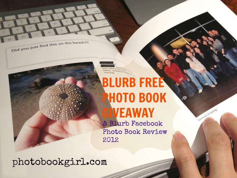 Photo Book Girl Blurb Giveaway 2012