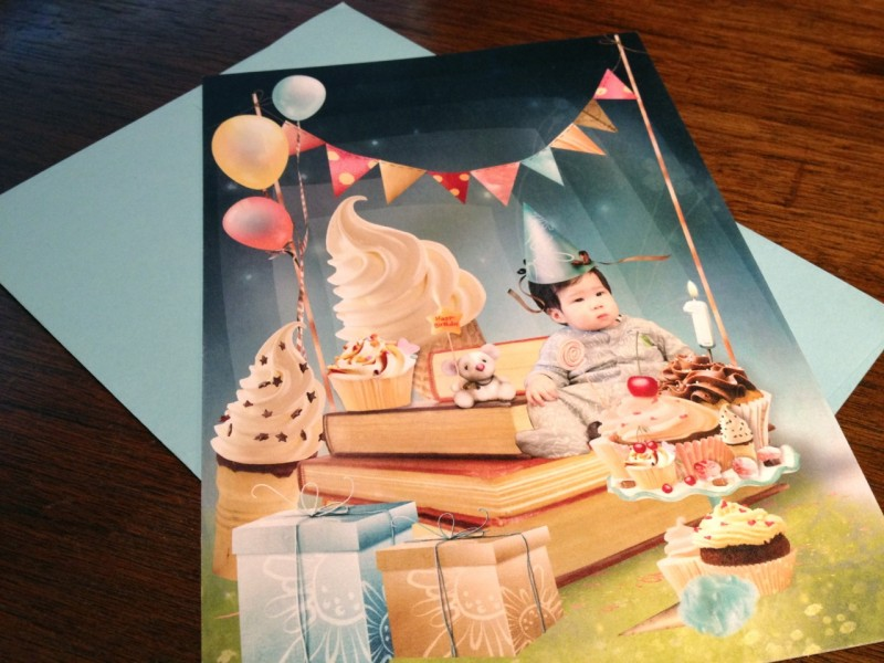 custom birthday invite