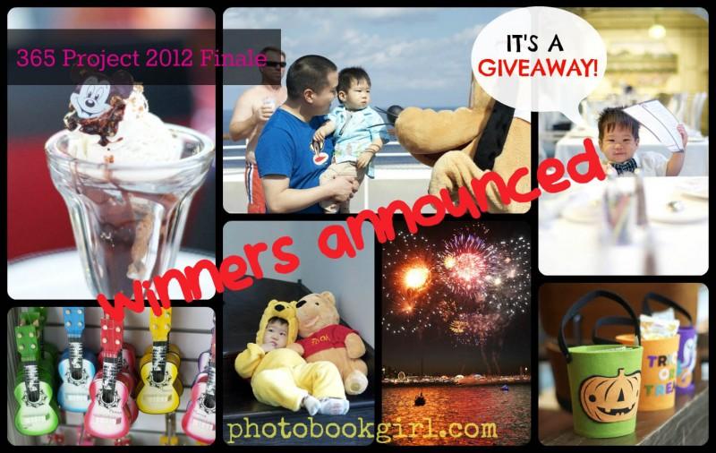 Final 365 collage Photo Book Girl winners