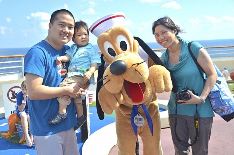 Disney Cruise Pluto Photo Book Girl