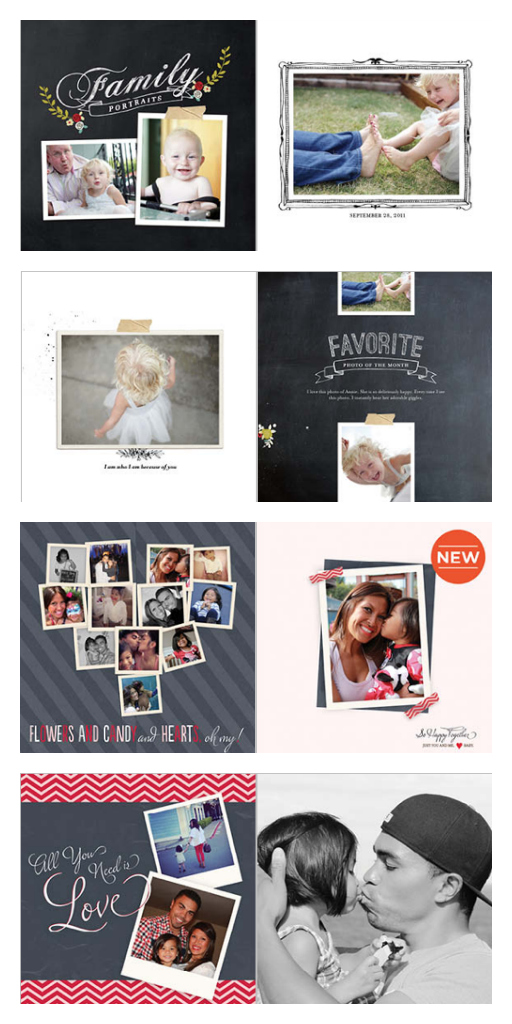 Shutterfly Photo Book Themes Valentine's Day