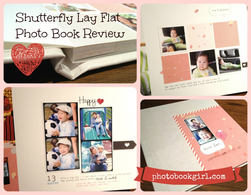 Shutterfly Lay Flat Photo Book Review