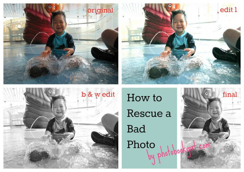 How to Rescue a Bad Photo