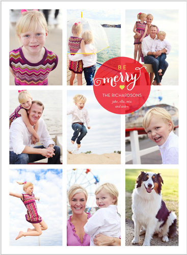 Shutterfly holiday cards 2013