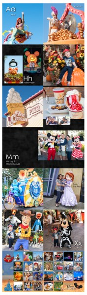 Disney Personalized ABC Photo Book