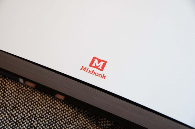 Mixbook logo lay flat