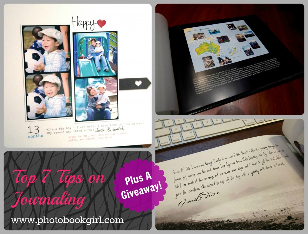 digital scrapbooking journaling