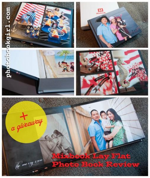 Mixbook lay flat giveaway