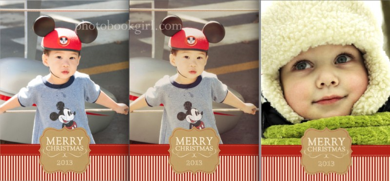 Mixbook Holiday Cards Tutorial