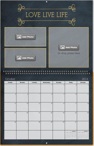 Mixbook Calendar 2014