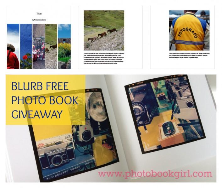 Blurb Giveaway Photo Book