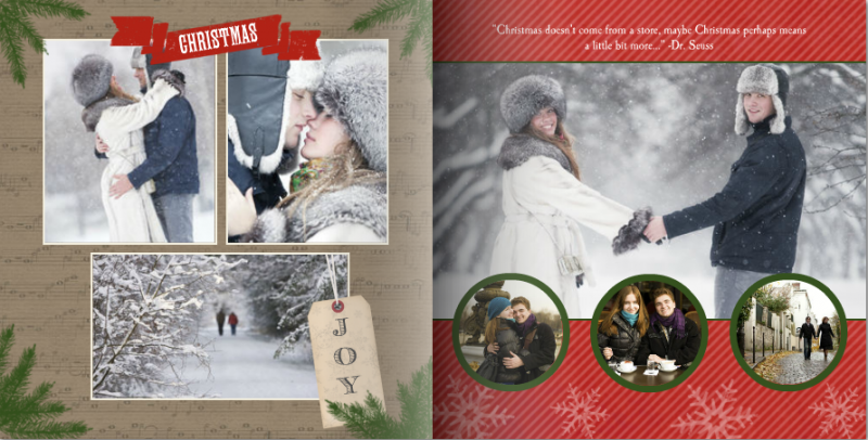 Mixbook Year in review photo book