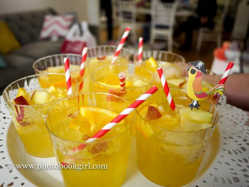 tropical sangria photo book party