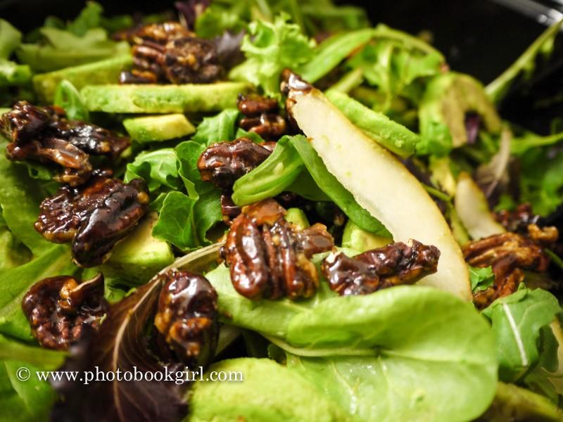 photo book party menu salad