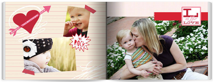 Shutterfly 5 x 7 Valentine's Photo Book