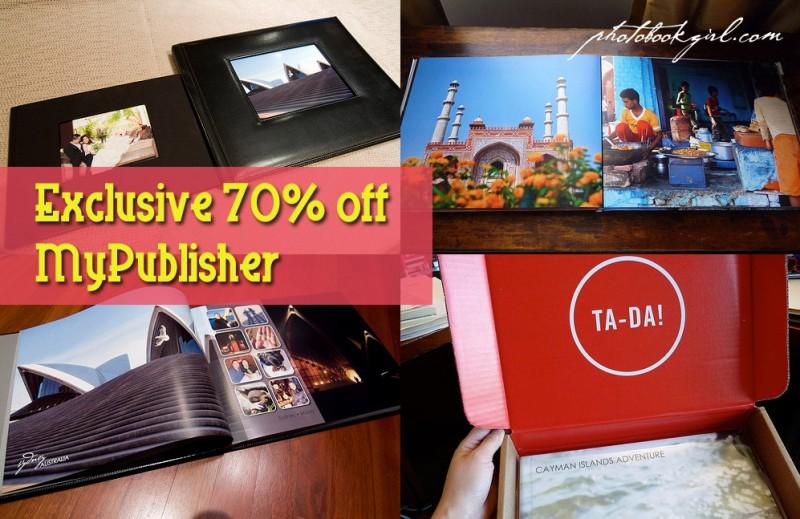 MyPublisher photo book layout