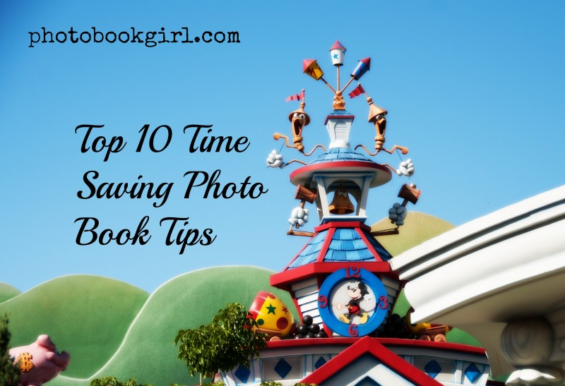 Time Saving Photo Book Tips