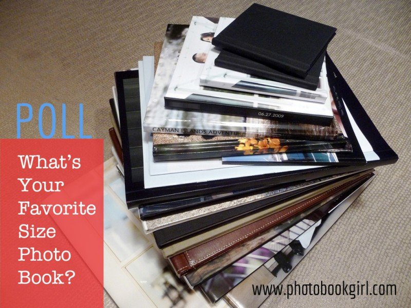 What's your favorite size photo book