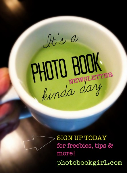 Photo Book Girl Newsletter Subscribe