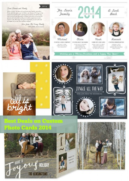 Custom Photo Card Deals 2014