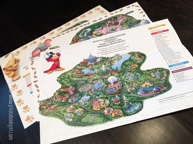Free Disney World Customized Maps