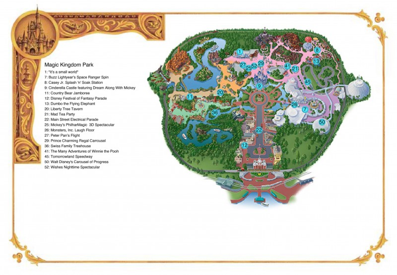 Print Maps | Disney World Customized Maps | Walt Disney World