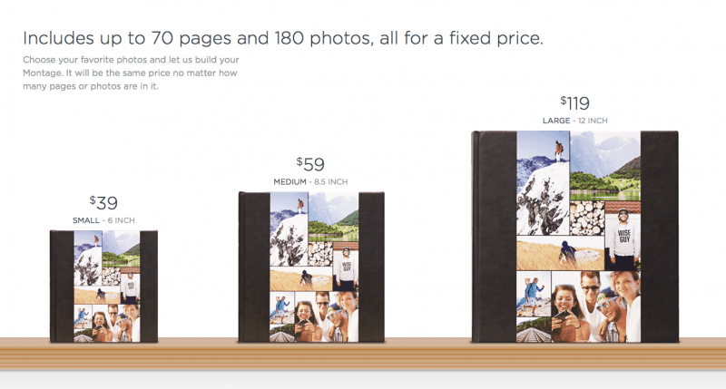Montage Photo Books