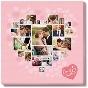 Photobook America canvas collage