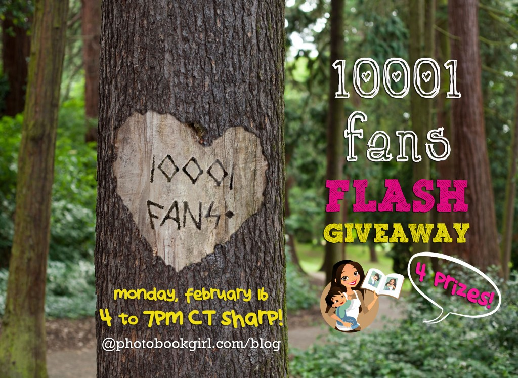 Flash Giveaway photo book Montage 2.16.15