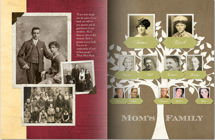 Mixbook - Family Memoirs