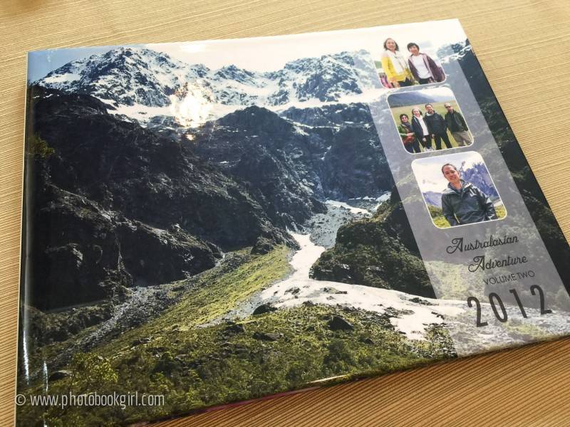 Make your own travel photo book
