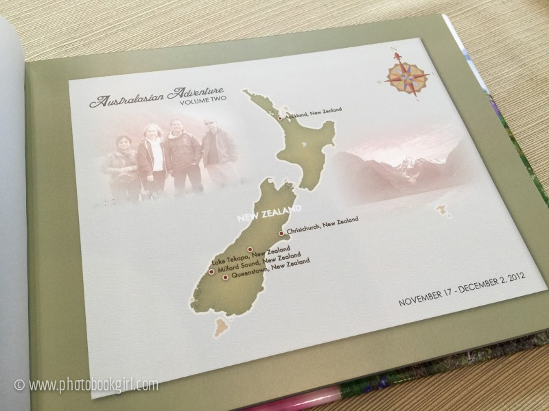 photo book travel map