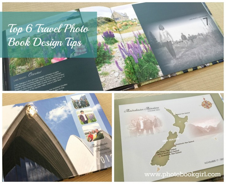 Top 6 Travel Photo Book Design Tips
