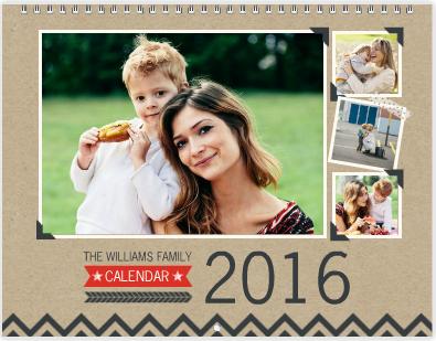 Kraft Calendar Mixbook