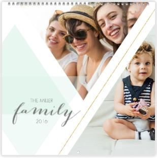 Soft Geometrics - Mixbook calendar