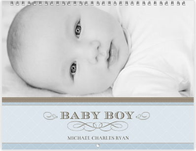 Classic Baby Boy Mixbook