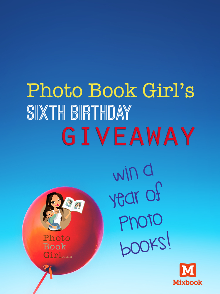 photo book girl birthday giveaway