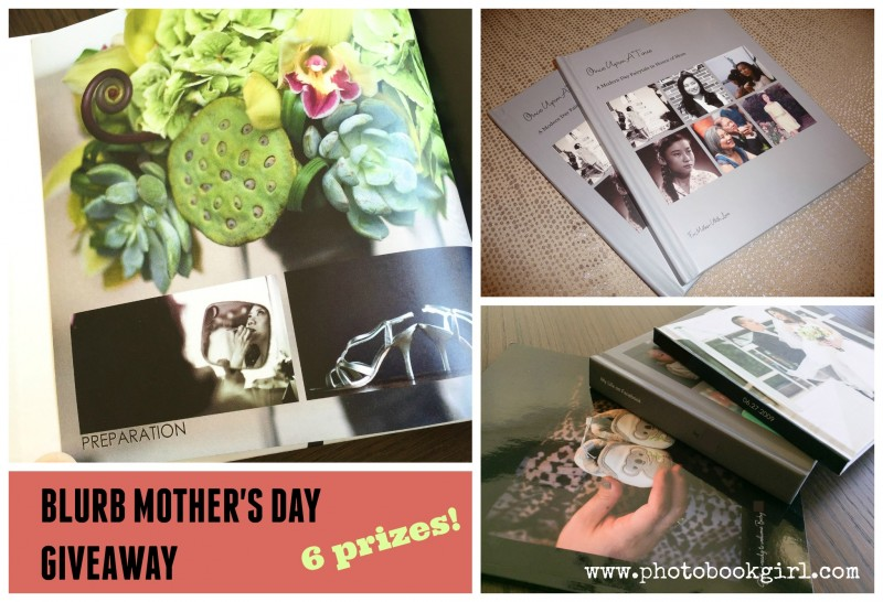 Blurb Mothers Day 2016 giveaway