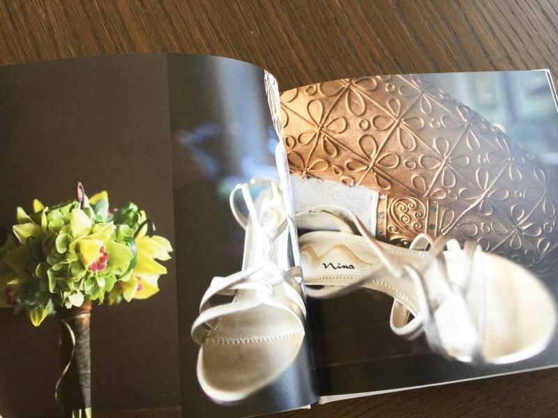 wedding photo album Blurb