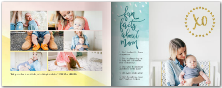 Hand painted Mother's Day - Mixbook