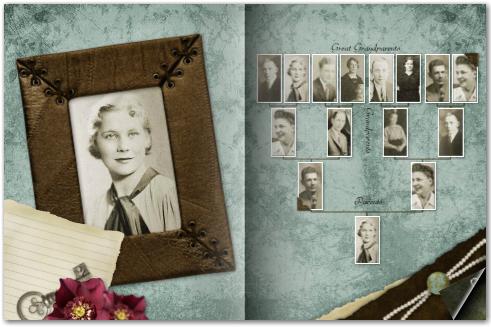 Mixbook - Family History