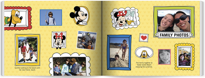 Shutterfly - Disney Adventures