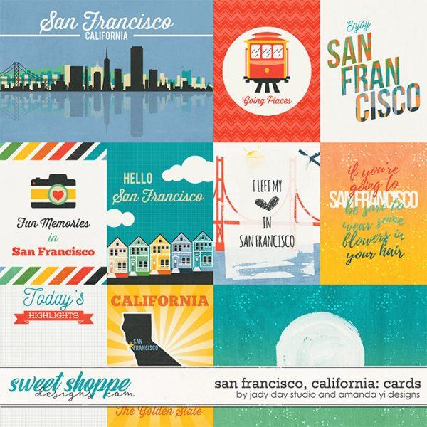 San Francisco digital scrapbook kit