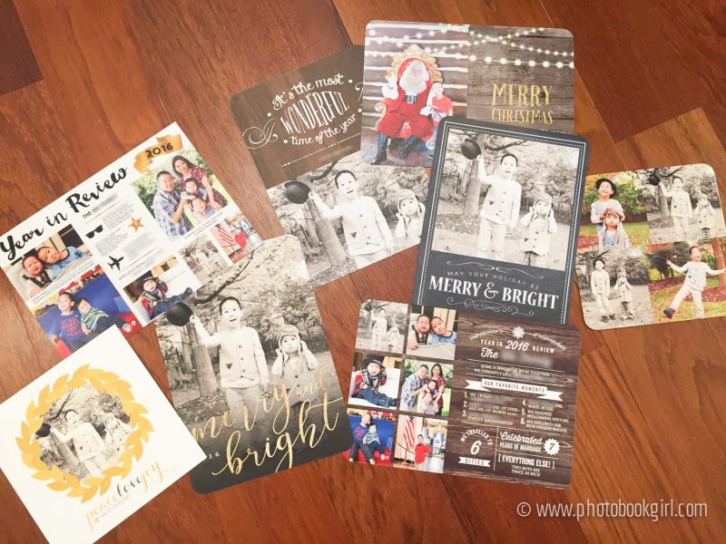 Mixbook Holiday Custom Cards Review